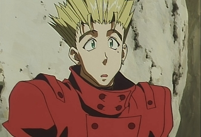 Making connections with characters and relating to them. That's always my favourite part. Also that there's so many genres to choose from. You're always bound to find something you'll like. Also my fave character is Vash from Trigun My sweet cinnamon roll. <333