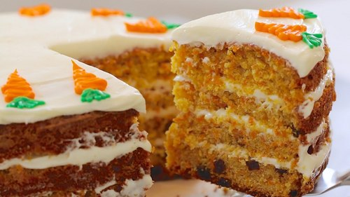 Carrot Cake...WITHOUT raisins!!