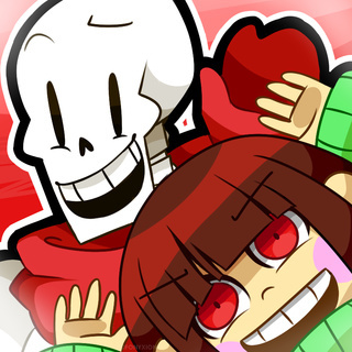 I think Papyrus is cute because he's kind, cheerful, and loving. He'd never harm anyone, and loves pretty much everybody!!