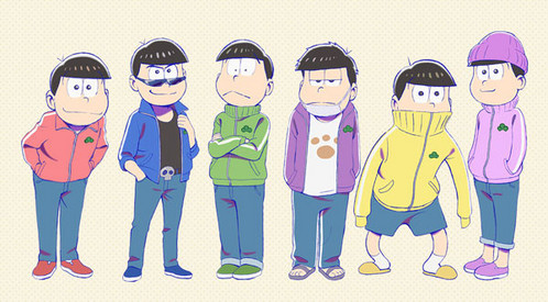 Osomatsu-San ......It might be disturbing.... but I also think it's cute and funny ^^