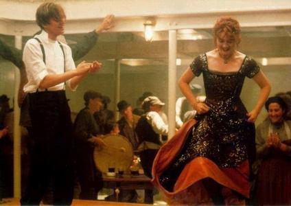 The dancing scene.