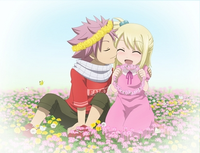 I think that natsu does like lucy because when they were little they liked each other but when her dad took her away because of his job it broke their hearts to be apart.