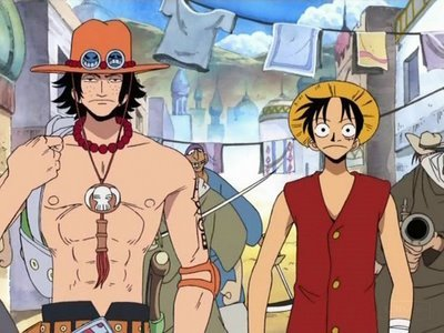 Ace & Luffy One Piece