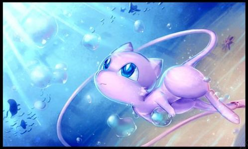 Personally, I always saw Mew as a female since it looks and sounds very feminine to me. Also, in Pokemon Blue, Pokemon Red, and Pokemon Yellow, some journals sagte that Mew gave birth to Mewtwo, and thus, that means it must be a female. So, yeah, I always see Mew as a girl, unless its shiny.