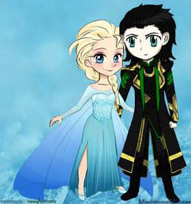Loki and Elsa but other/more normalish ones include *Aurora x Jim (most Jim ships if we're being honest) * Jackunzel *Tinkerbell x Hiccup *Proteus x Sarah Hawkins *Nod x toothiana (I'm actually really into Nod ships rn) * Zarina x Tadashi (idk i just like fairy ships) *Anna x Hiccup *Marina x Eric *Tip x Hiro etc. u should try looking at some older crossover videos. they never fail to get me in the crossover mood (loveandheartbreak has been reuploading her older videos and i'm loving it!)