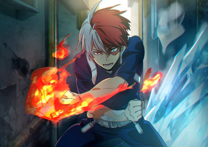 The only one I am familiar with so far is Shouto Todoroki from Boku no Hero Academia. It is January 11th for both of us !!!!