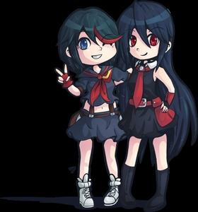 Ryuko and Akame