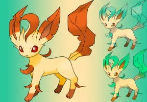 The shiny pokemon that makes me the most upset is Leafeon Du can't even tell a shiny from a not shiny they have to be side Von side for a comparison to be made and even then it is hard to tell!