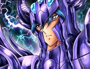"Crateris/Garuda Suikyo from""Saint Seiya: 다음 Dimension"""