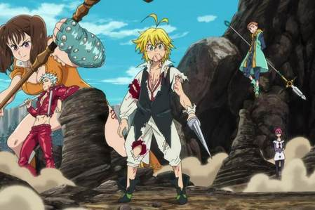 Nanatsu no Taizai (The Seven Deadly Sins) this is the best Medieval Adventure Anime so far.......it has everything in it.......its an anime with knights, and princesses, and stuff like that..........its pretty damn epic anime.......if u havent watched it yet i really insist.........eh he eh h oh i forgot then there is Inu Yasha Hakuouki Gintama Kuroshitsuji (Black Bulter) Naruto + Naruto Shippuden