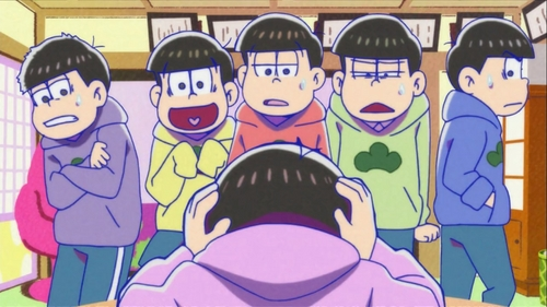 Almost died laughing while watching Osomatsu San. It's legit the best anime ever I mean, oh my god!!!