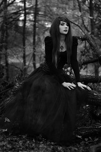 Gothic and nature aesthetic