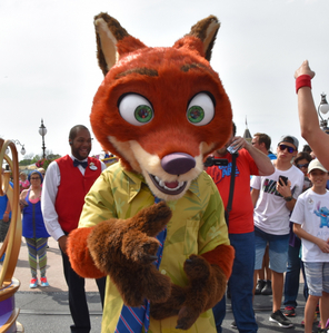 "And? So what if it's not technically real? That's like saying I can't enjoy meeting Nick Wilde at Disney World. Yeah, I know Nick isn't real, and it's just a guy in a suit. But that's not the point, the point is the magic behind it. And there's virtually no harm in it. I'd gladly hug the shit out of ""Nick"" if I ever got the chance to meet him in person. I still Liebe you, Nick ❤️"