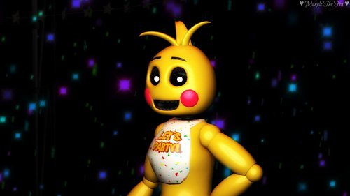 Toy Chica, Mangle, Bonnie and Foxy