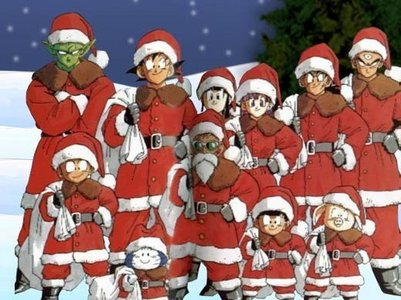 Natale with the Z-Fighters