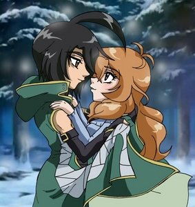 Shun and Alice Bakugan