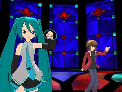 I would have Hatsune Miku Vocaloid sing the music for Yu-Gi-Oh. It has been known that Hatsune Miku even though she is a Vocaloid. She did appear in some Anime. And she did she openings and ending songs for some Anime. So i can see this happening for Yu-Gi-Oh series as well. Click on the link. ----> https://youtu.be/5-Du7Zkhe-0 If the link don't work. YouTube paghahanap Hatsune Miku Yugioh.
