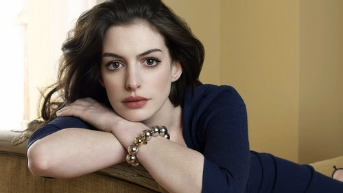 Anne Hathaway Then Emma Stone.