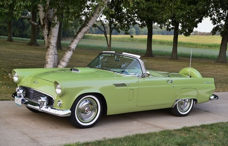 I don't have a clue what you're asking so I'm just going to drop an image of a classic Thunderbird. My husband has one of these, we fuck in it