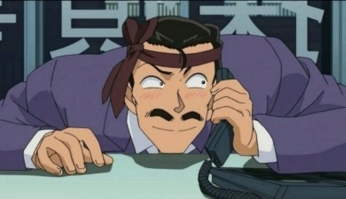Since Shinichi/Conan, Heiji and Yusuke are taken,My choice would definitely have to be Kogoro Mouri from Detective Conan! He's hilarious and he is one of my các sở thích anyway!