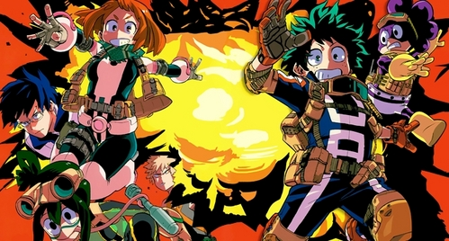 Fairy Tail Fruits Basket My Hero Academia Naruto/Naruto: Shippuden No.6 One Piece Rave Master Shiki Soul Eater and a lot más