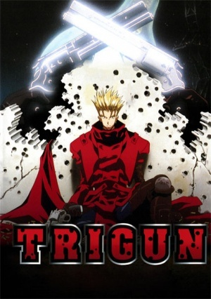 Trigun. <333333 It's a bit of an older one but it's my most favourite Anime and one I'll never get tired of rewatching. Samurai Champloo is a close second.