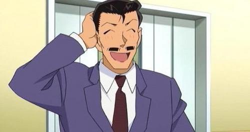 Mouri Kogoro from Detective Conan!