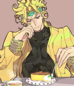 Alright. It is a deal. Bring it. Oh, wait..... Dio has already eaten my cake! DAMN 你 DIOOOOOOOOOOOOOOOOOOO !!!!