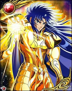 "Gemini Saga from""Saint Seiya""(big surprise *sarcasm*) I Любовь him because he is a complex and tragic character and of course because I Любовь his personality(intelligent,righteous,benevolent but no pushover,serious,determined and a total badass as well) as well."