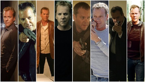 Jack Bauer from 24 (played by Kiefer Sutherland). Awesome, badass, caring, loving and just all around the greatest guy ever, who saves the world and loves and is willing to help his Друзья and family and is extremely unselfish
