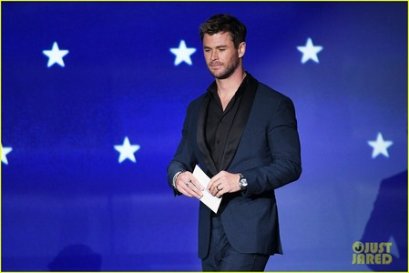 handsome Chris in a suit<3