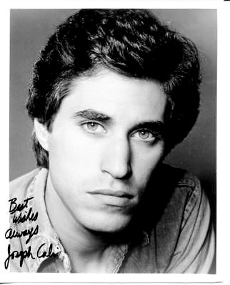 Joey's beautiful autograph 💕