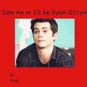 Dylan O'Brien He's so cute and so is this.