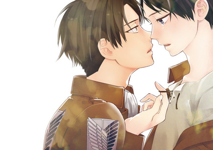 Eren x Levi from Attack on Titan / Shingeki no Kyojin Forever <33