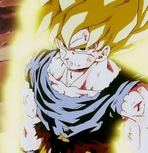Super Saiyan Goku from Dragon Ball Z