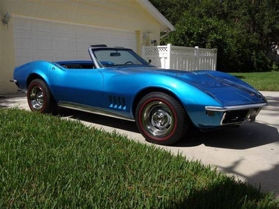 I think Ты saw this one coming. 1968 Chevrolet Corvette Stingray.