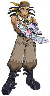 Hassleberry from Yugioh GX