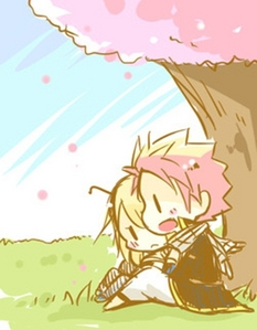 LUCY!!! She and Natsu's relationship has gone a long way! He's HELPED her get to Fairy Tail! Personally, Natsu has gone to Lucy's rescue so many times! He's like her PRINCE CHARMING! But, then again, that's NATSU!! SO, NaLu FOREVER!!!!!!!