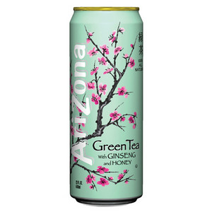 It used to be monster, but since I got pregnant, I've been replacing it with Arizona green чай
