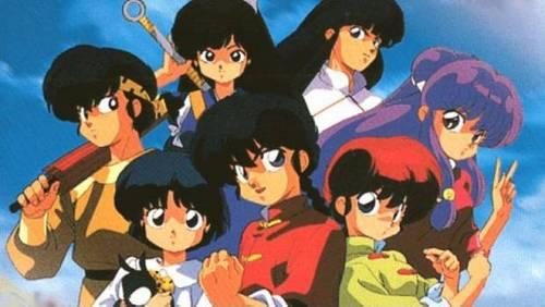 1) Ranma 1/2 2) CardCaptor Sakura 3) Dragon Ball (the first series)