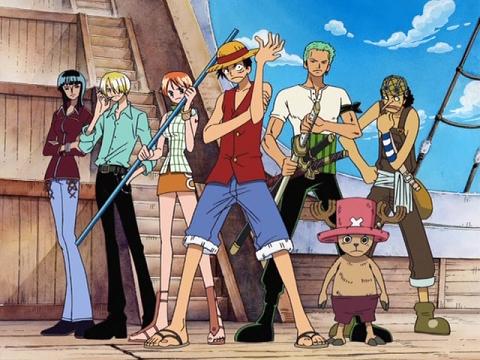 1) One Piece 2) Dragon Ball Z 3) Shaman King