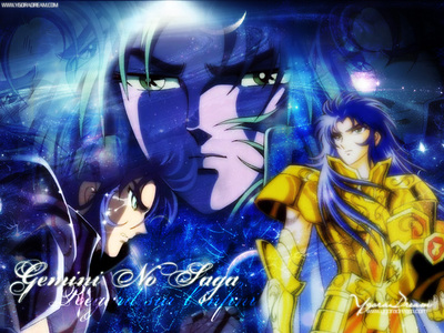 Still obsessed with Gemini Saga (Saint Seiya)