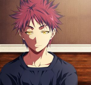 I would say Soma from Food Wars! Absolutely in my Top 3 favorite anime characters!