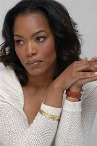 It would be Angela Bassett for me. She's a good actress