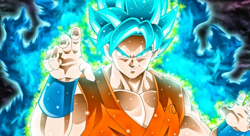 Goku, I think he's a good ideal because of being so carefree, funny and also a nice person who has saved the world from evil so many times. A fave of mine for sure :)