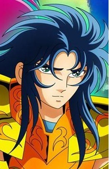 "Kanon from ""Saint Seiya""."
