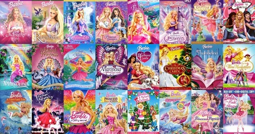 प्रिय बार्बी Songs 1. You're The One - टट्टू Tale 2. Shine - 12 Dancing Princesses 3. Believe - Diamond गढ़, महल 4. Constant As The Stars Above - Rapunzel 5. All For One - Three Musketeers 6. Can आप Keep A Secret - Fairy Secret 7. क्वीन Of The Waves - Mermaid Tale 8. What If I Shine - Rock N Royals 9. Here I Am - Princess & The Popstar 10. Hope Has Wings - Magic Of Pegasus Only बार्बी फिल्में I Haven't Seen: 1. The बार्बी Diaries (2006) 2. तारा, स्टार Light Adventure (2016) 3. Video Game Hero (2017) 4. डॉल्फिन Magic (2017)