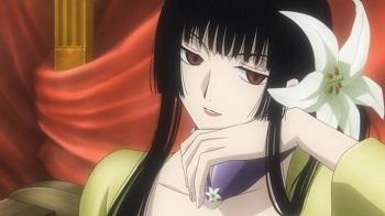 Have a bunch - again! (in no particular order!): 1) Haruhi Fujioka - Ohshc 2) Yuko Ichihara - xxxHolic 3) Rangiku Matsumoto - Bleach 4) Tsukimi Kurashita - Kuragehime 5) Elaine - Nanatsu no Taizai 6) Chizuru Hishiro - ReLIFE 7) Alex Benedetto - Gangsta. 8) Victoria Seras - Helling/Hellsing Ultimate 9) Tsuyu Asui - Boku no Hero Academia 10) Mirai Kuriyama - Kyoukai no Kanata 11) Ikumi Mito - Shokugeki no Soma 12) Yoshino Koiwai - Masamune-kun no Revenge 13) Lucoa - Kobayashi-san Chi no Dragon Maid 14) Chiyuki - Death Parade 15) Levy Mcgarden - Fairy Tail 16) Merlin - Nanatsu no Taizai 17) Nico Robin - One Piece 18) Morgiana - Magi The Labyrinth/Kingdom of Magic 19) Tsubaki Nakatsukasa - Soul Eater 20) Fuu - Samurai Champloo 21) Juvia Lockser - Fairy Tail 22) Kofuku - noragami 23) Diane - Nanatsu no Taizai 24) Celty Sturluson - Durarara! 25) Touka Kirishima - Tokyo Ghoul