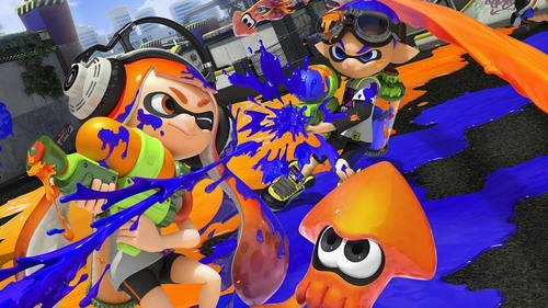 Living in the Splatoon world would be nice.