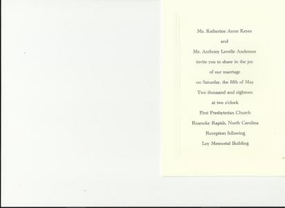 Hello Adam, my name is Anthony. I tried to send 你 a wedding invitation to my wedding on May 5th.I send the invitation to A&M Octone Records 113 大学 Place 11th Fl. NY,NY10003.It was the returned back to my address. I wanted to ask for a favor. I know due to your busy schedule. I wonder that if 你 could make a DVD wishing me and my future wife a happy marriage.
